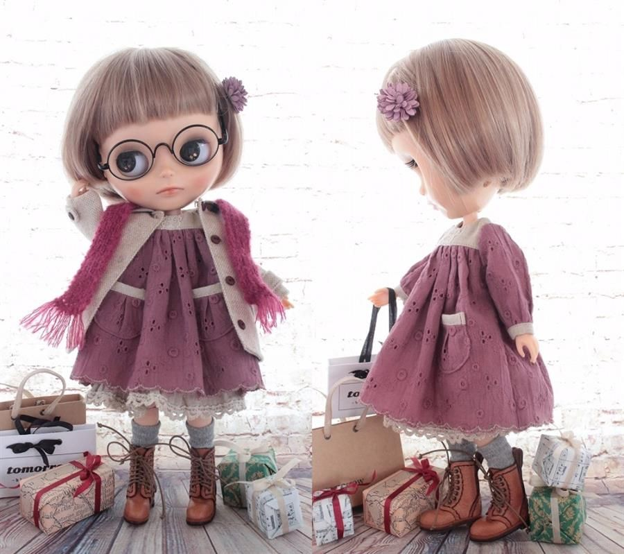 ◆Blythe Outfit◆ブライス♪Xmasショッピングコーデ9点set NO73 - ヤフオク!