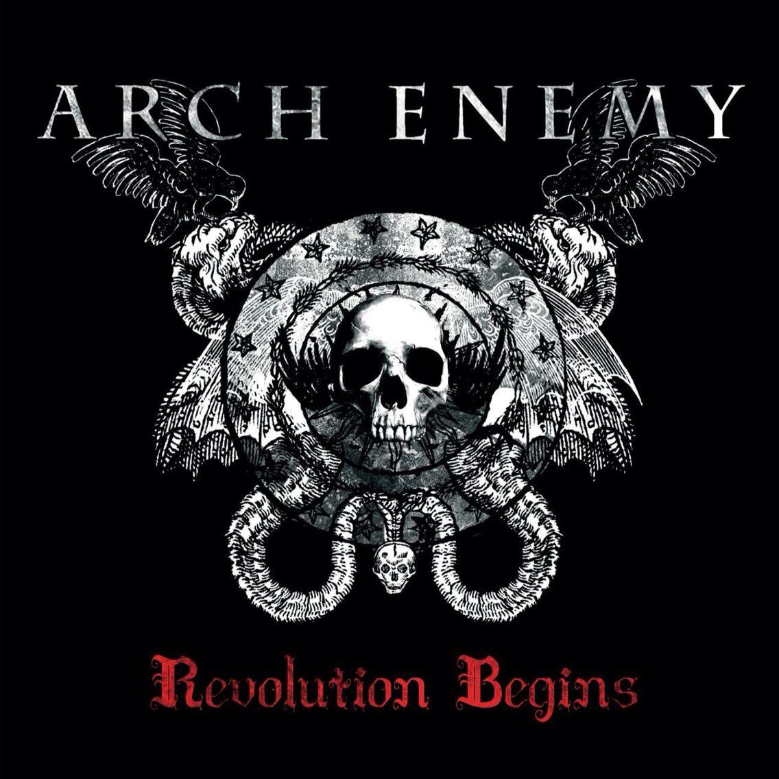 Arch Enemy Revolution Begins Feinde