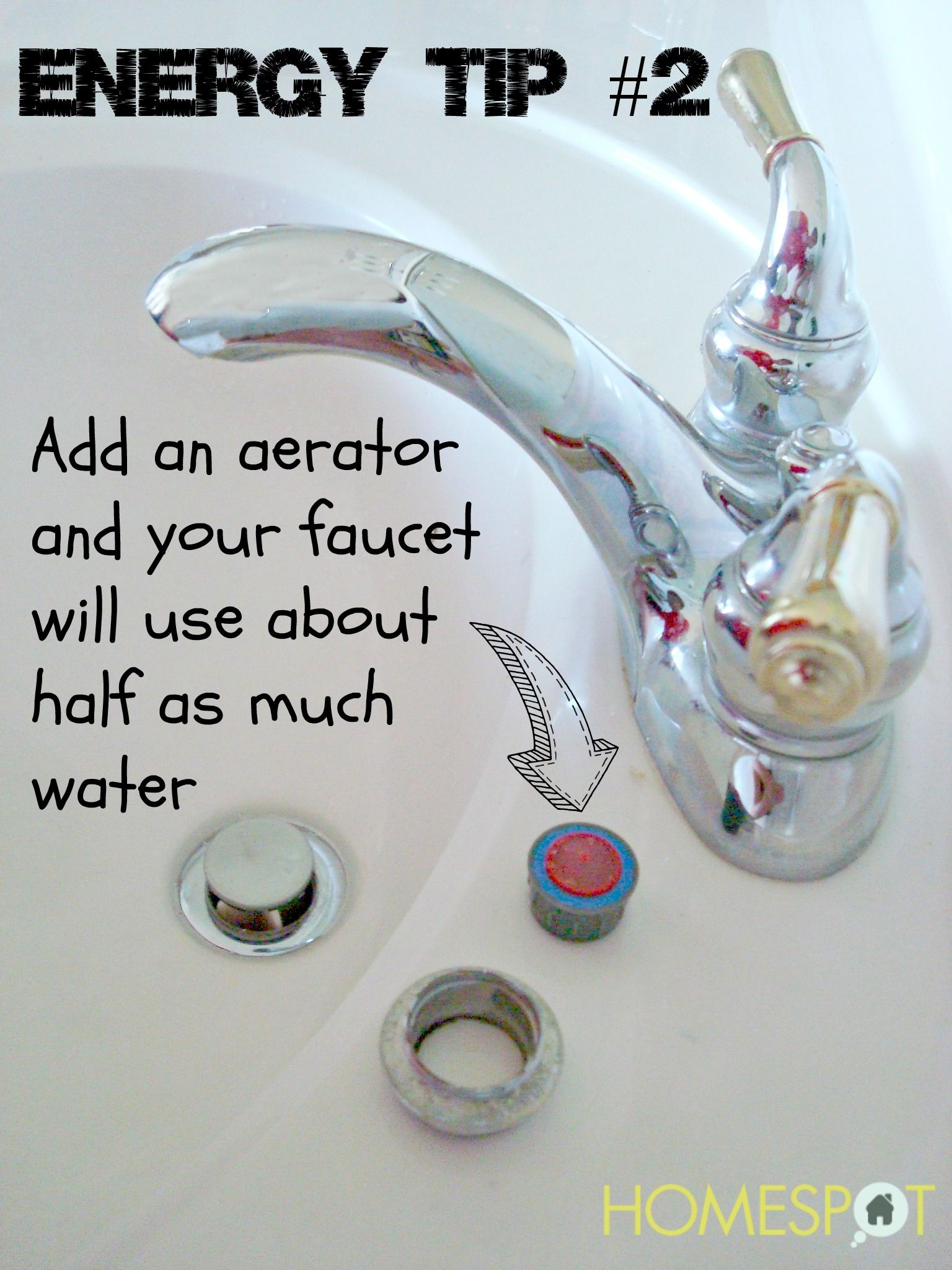 Aerators save 50% on water use from a faucet | DIY Ideas | Pinterest ...