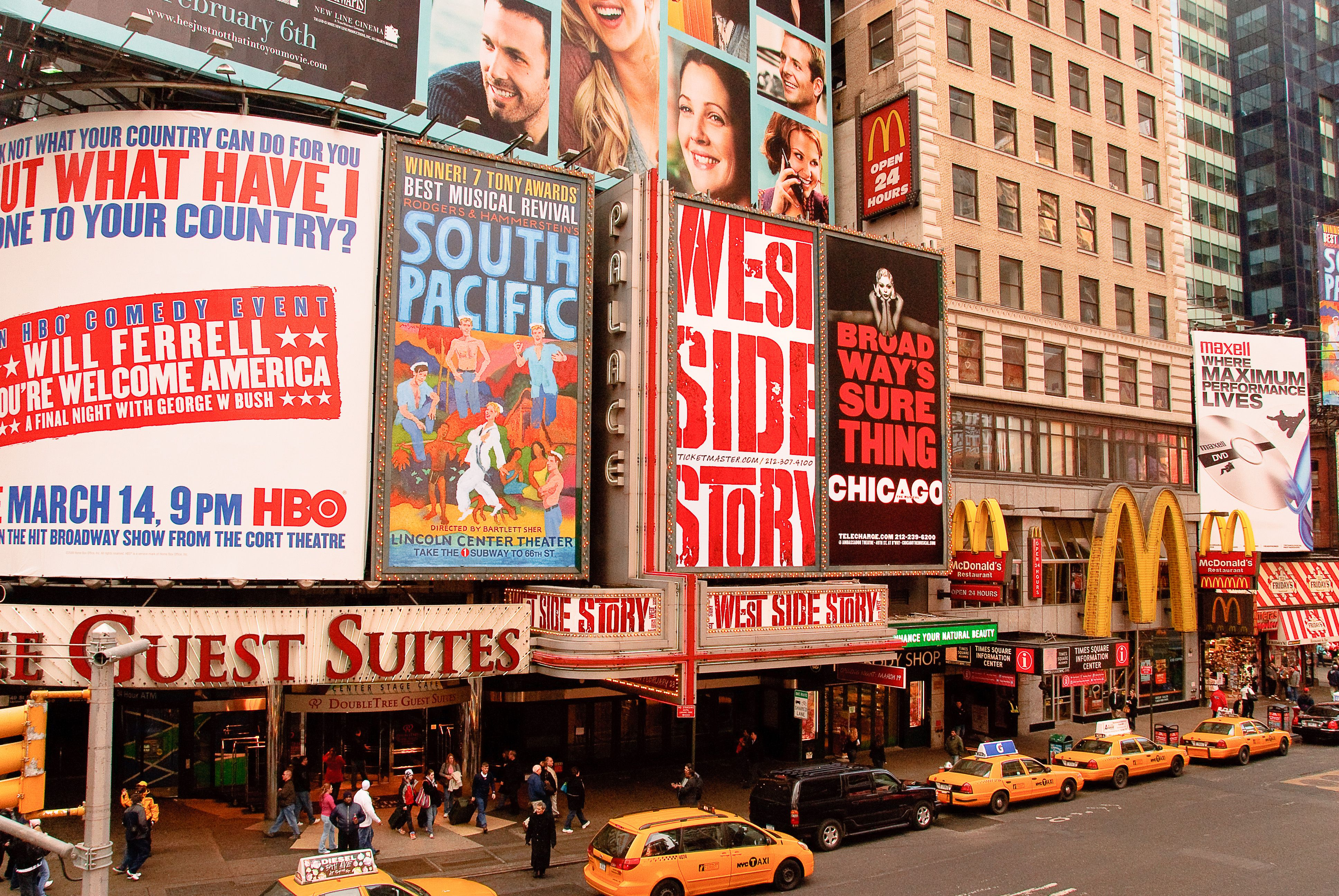 New York City Theatre District Welcoming America Theater District New York City