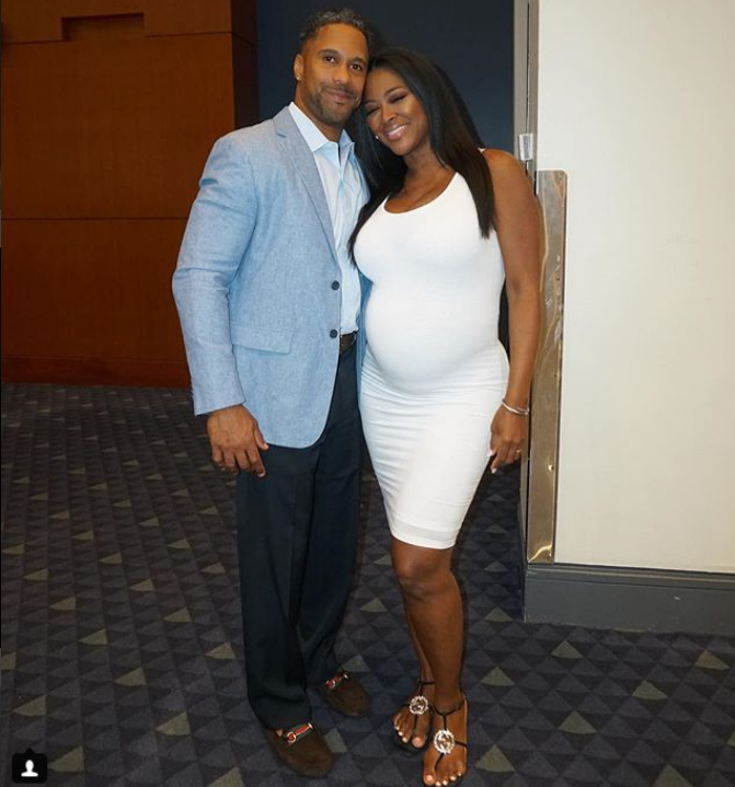 Kenya Moore and Marc Daly have heated argument online