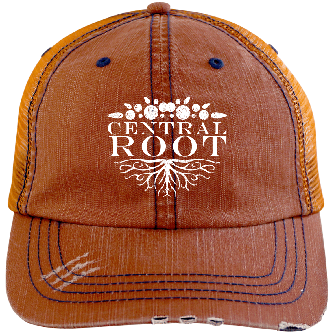 ec918eaee Central Root Distressed Unstructured Trucker Cap in 2019 | Products ...