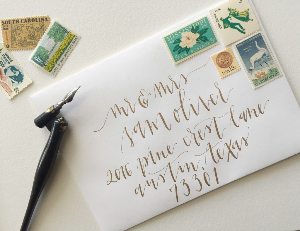 Atlanta Wedding Invitations: Atlanta Calligraphy