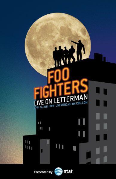 - Foo Fighters Poster Artwork - #music #posterart #artwork #Foofighters #Davidletterman #musicart http://www.pinterest.com/TheHitman14/music-poster-art-%2B/