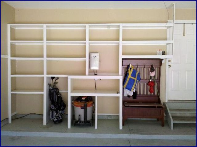 Awesome Build Garage Shelving