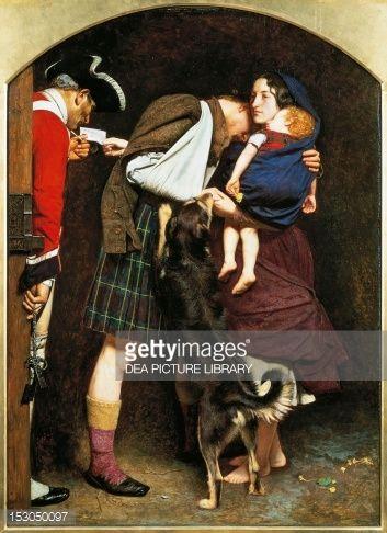 John Everett Millais The Order of Release 1746 Vintage Fine Art Print