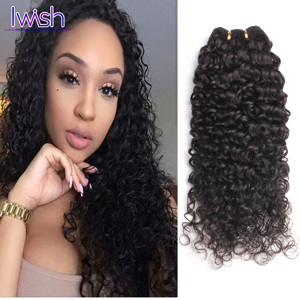Indian Deep Curly Hair Raw Human Hair Weave Indian Deep Curly Wet