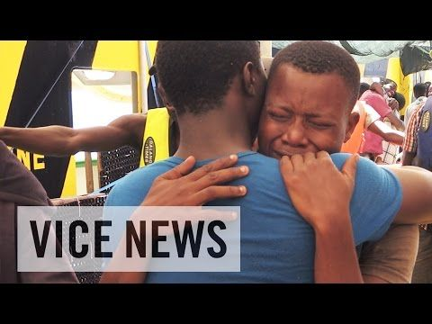 Surviving One of the Deadliest Routes to Europe: Refugees at Sea VICE NEWS | HumansinShadow.wordpress.com