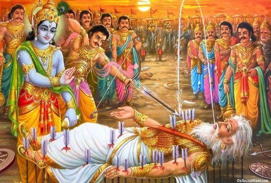 Bhishma Pitamah Krishna Photos Hindu Gods Krishna Art