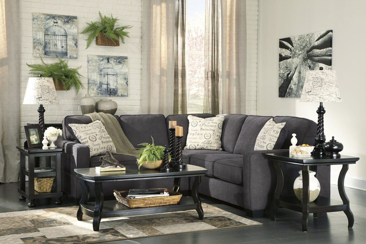 Merca Muebles Sala Modular Ashley Alenya Gris Sofa Love Seat Sears Com