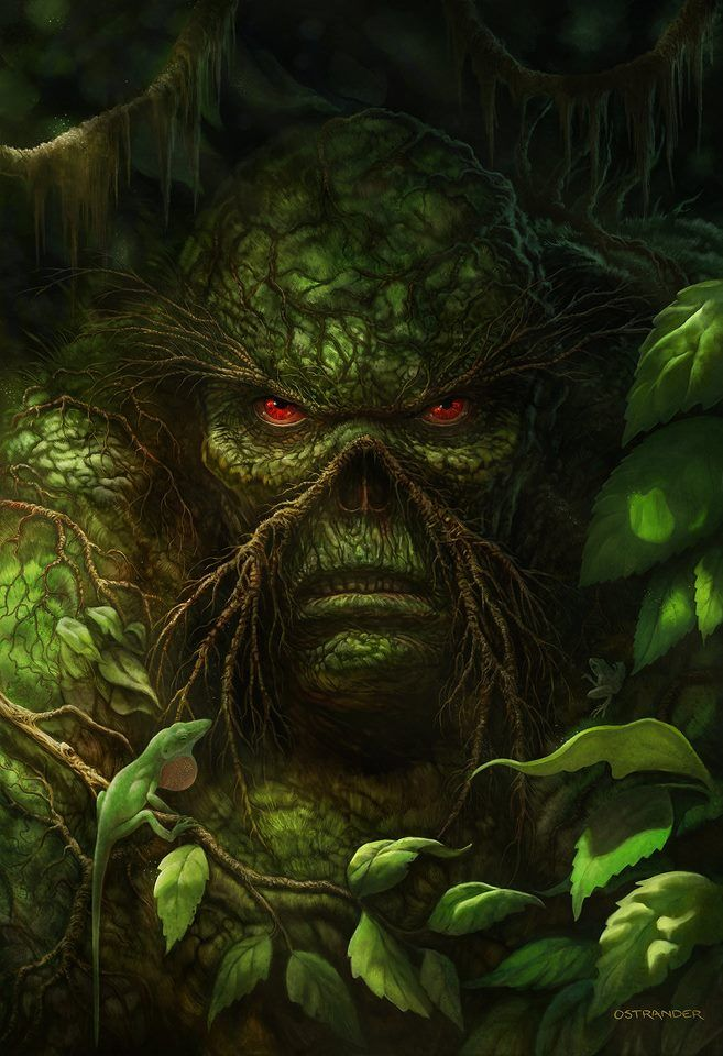 Swamp Thing! #swampthing