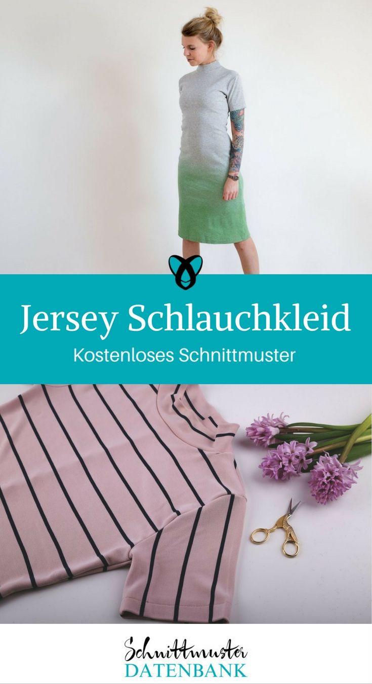 Jersey Schlauchkleid Noch keine Bewertung. | Upcycling