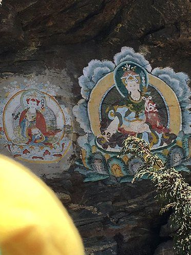 Tour am Mount Everest mit dem Wandmalerei, Flughafen