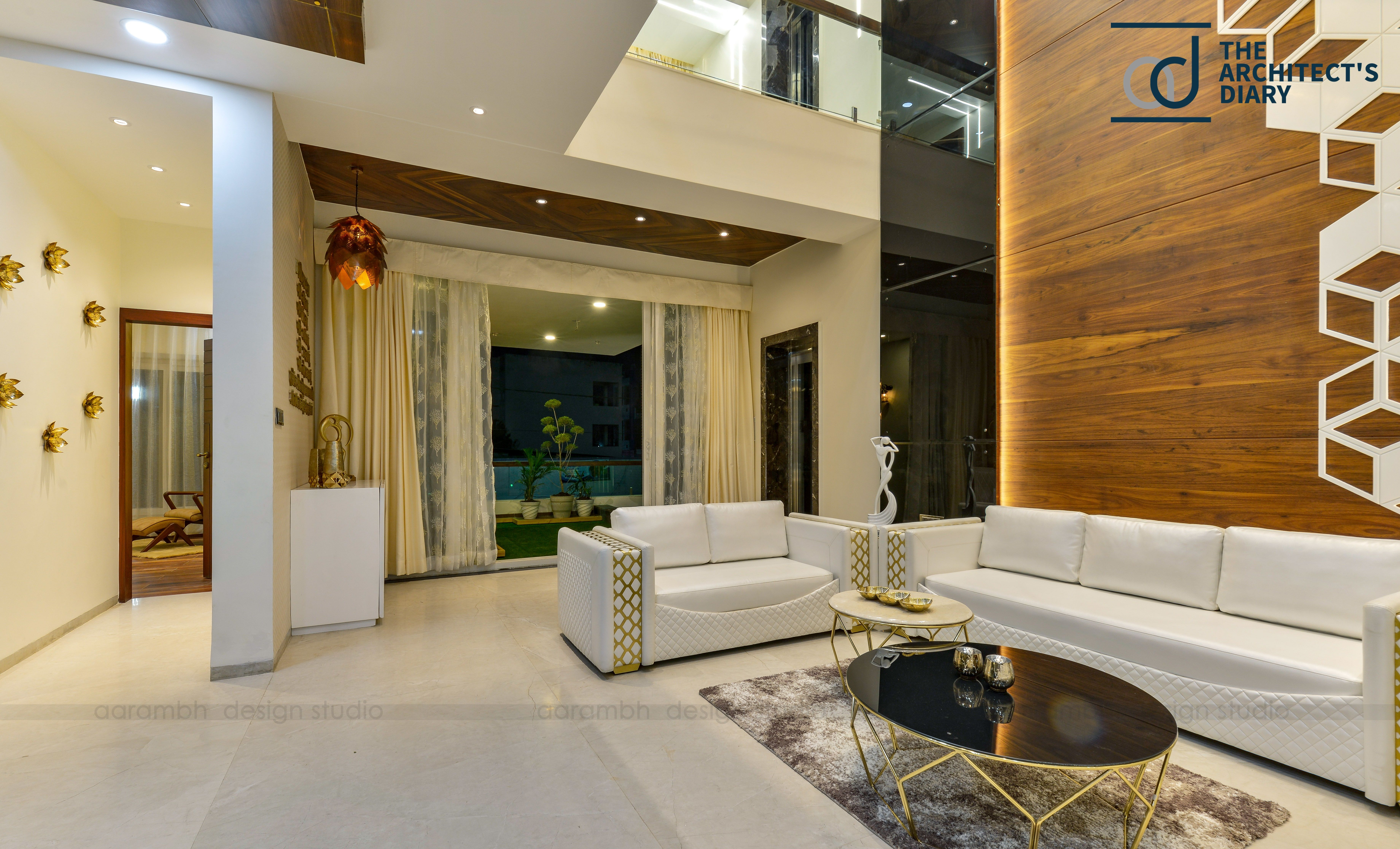 Contemporary Indian House In Indore Indian Living Rooms Indian