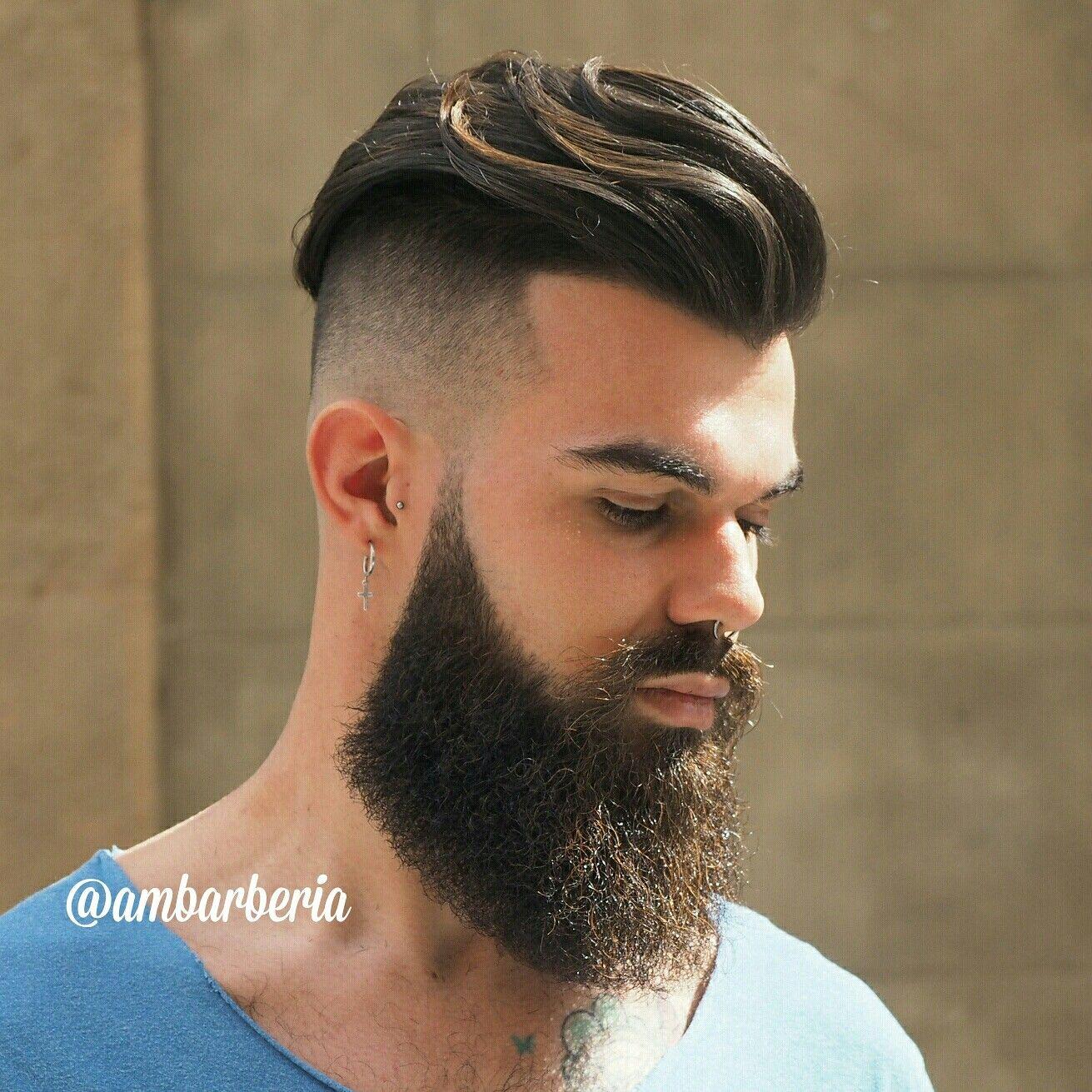 Pin by Saurav Satpute on saurav | Pinterest | Hairstyle men, Beard ...