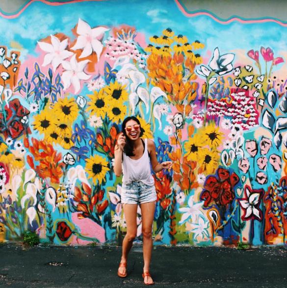 The Instagrammers Guide To Nashville Tn: 25+ Bästa Nashville Murals Idéerna På Pinterest
