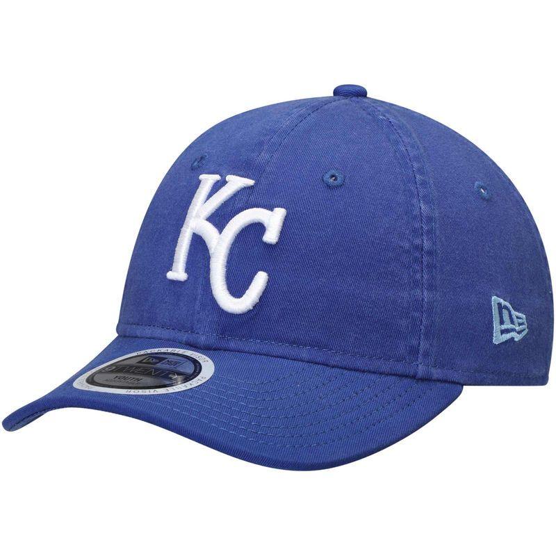 premium selection 06721 4ac9d Kansas City Royals New Era Youth Primary Core Classic 9TWENTY Adjustable Hat  – Royal
