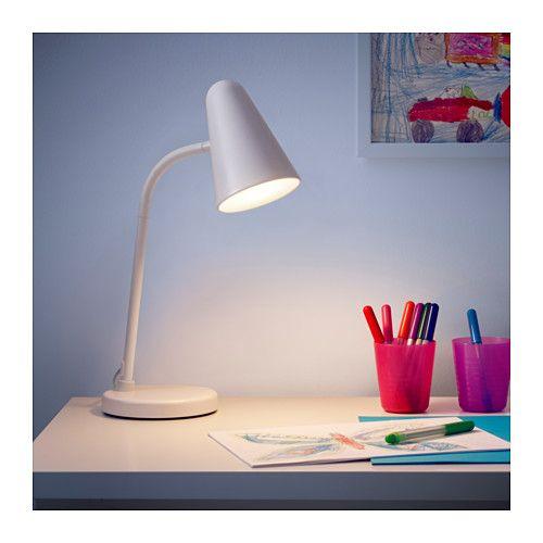 Fubbla Arbeitsleuchte Led Weiss Ikea Deutschland Work Lamp Led Light Bulb Lamp