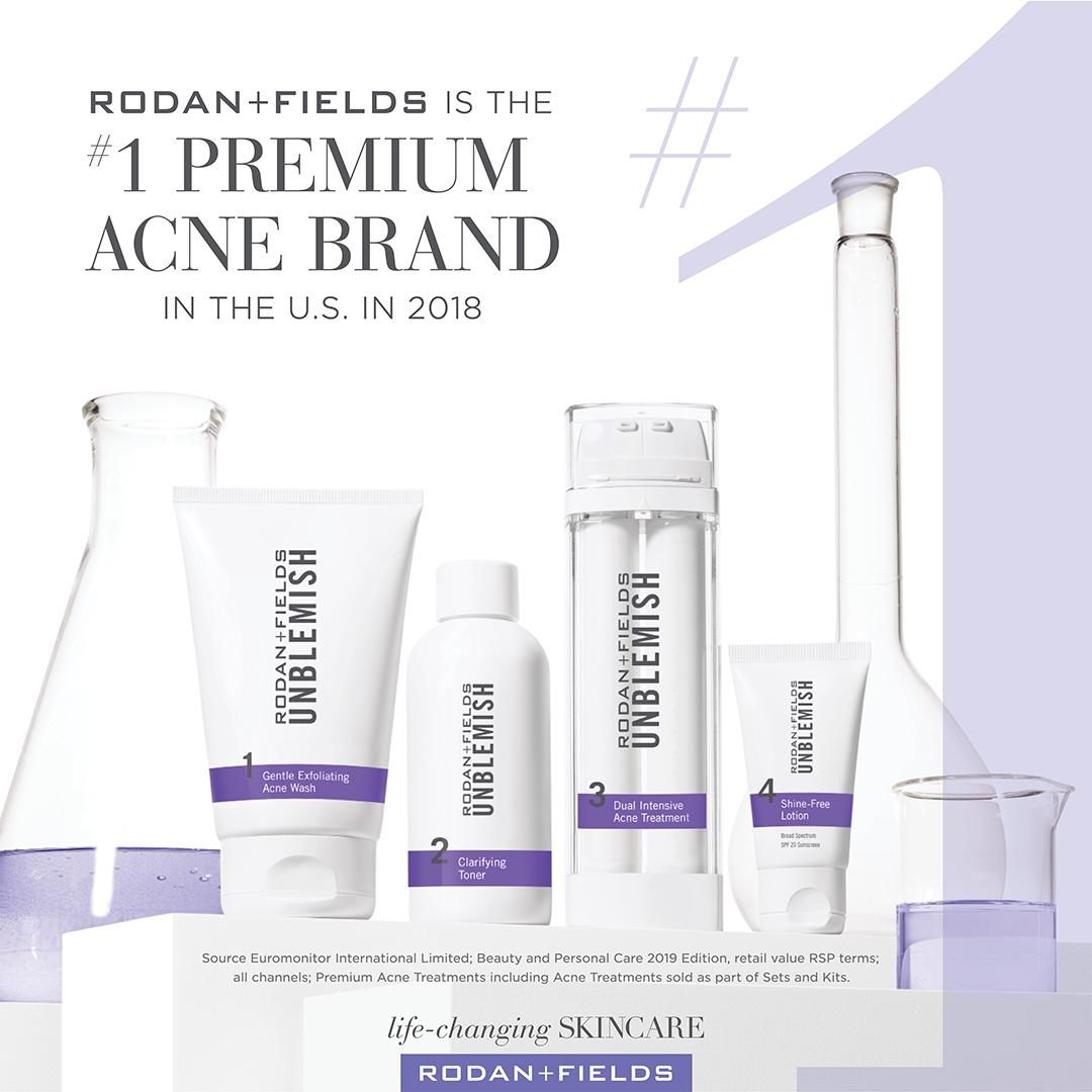 Did You See My Last Post This Is The Amazing Unblemish Regimen That Kisha Used To Get Her Wonderful Results If You Ar Rodan And Fields Acne Brand Unblemish