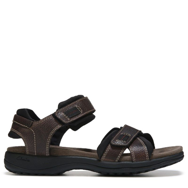 61b82a113357 Clarks Men s Keating Sandals (Brown Leather)