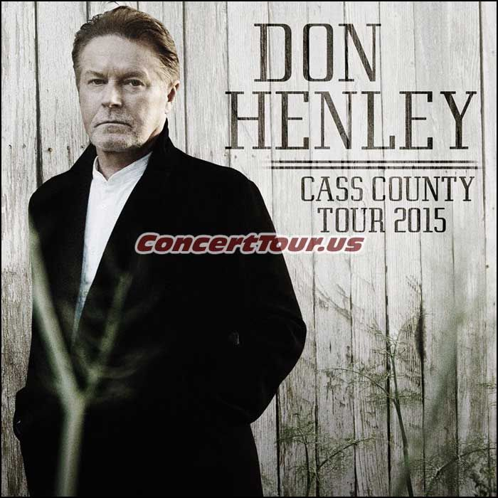 Don Henley Set To Release His Latest Solo Album Cass County And Then Hit The Road On Tour Cass County Henley Tours