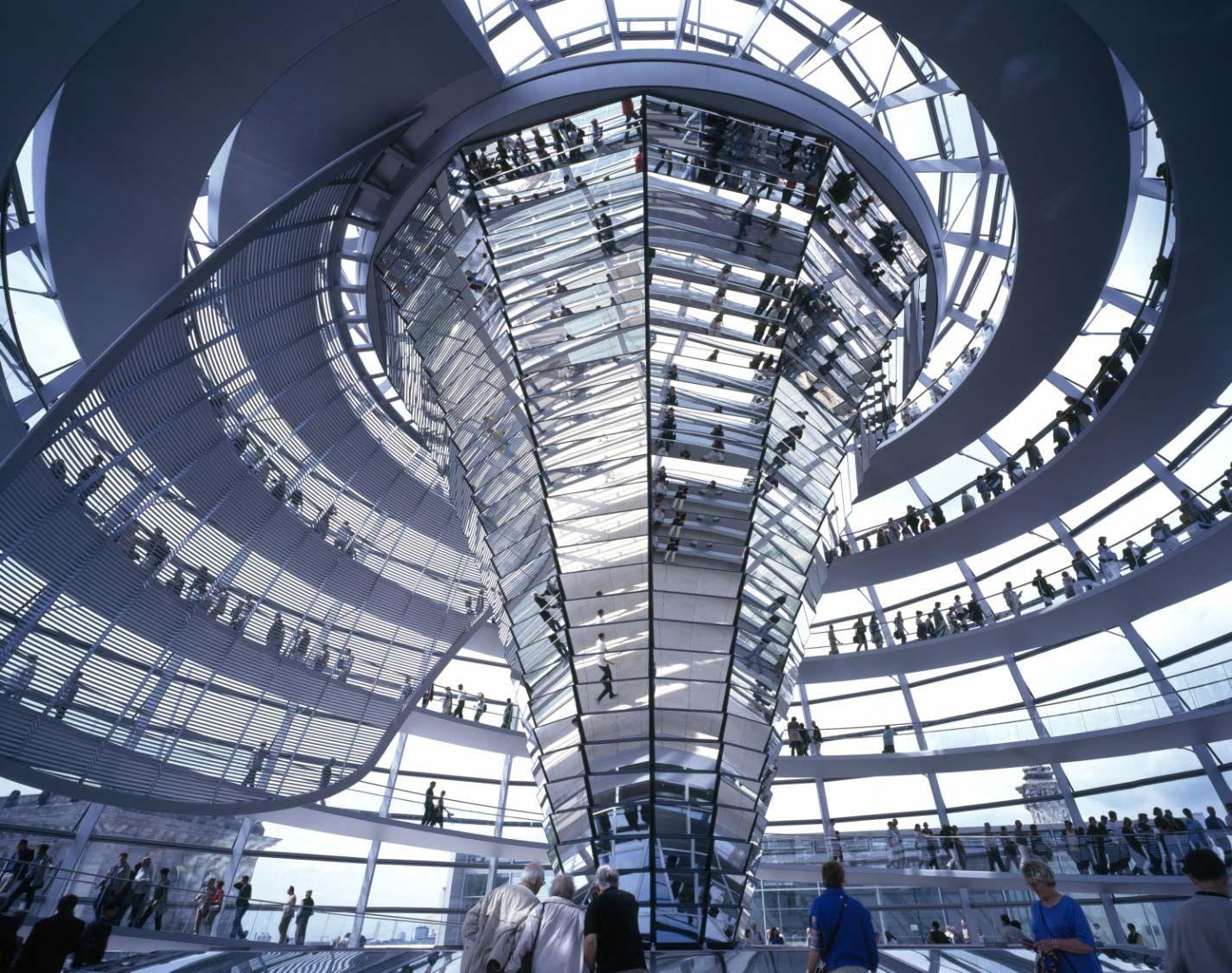 Modern Architecture Berlin foster - berlin-reichstag-dome | architecture - british modern