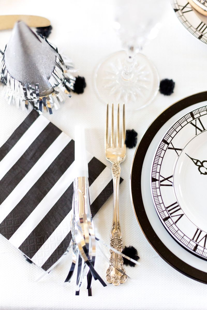Black & White New Year\'s Eve Party | Pinterest | Black and Holidays