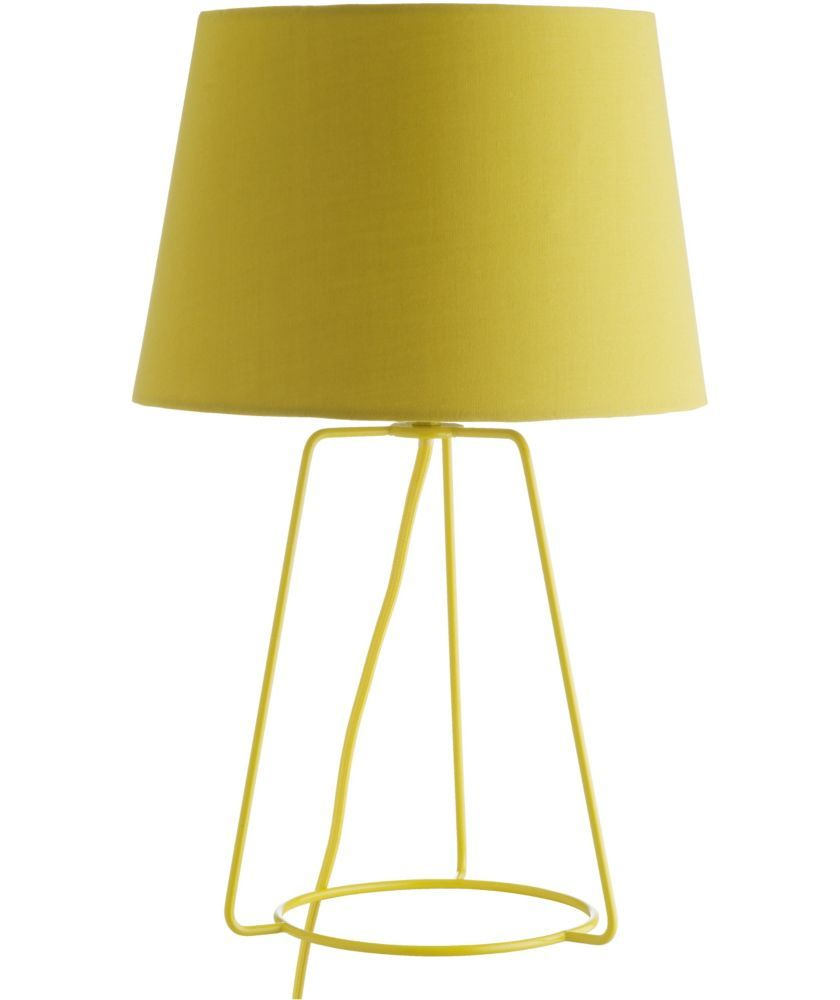 Buy habitat lula metal table lamp yellow at argos your buy habitat lula metal table lamp yellow at argos your aloadofball Image collections