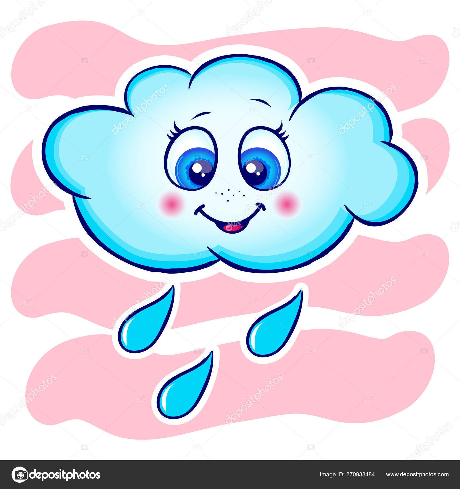 CloudColorWhiteBlueVectorDesignSpaceShapeSky