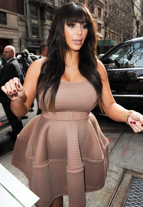 Kim Kardashian pink dress - Clothes - Pinterest - Pink- That dress ...
