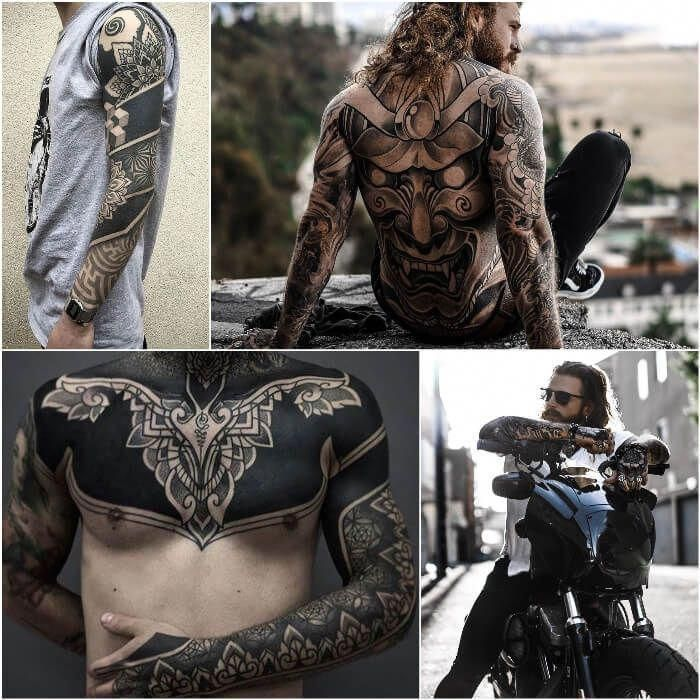 full sleeve tattoo japanese style