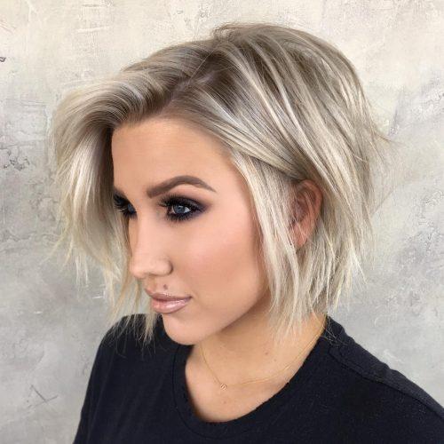 Top 28 Haircuts For Heart Shaped Faces Of 2020 Bob Haircut For Fine Hair Haircuts For Fine Hair Bobs For Thin Hair