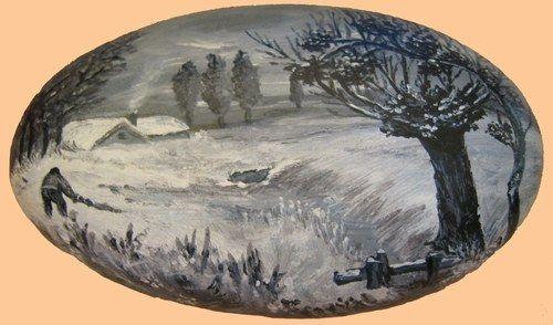 Peinture galets