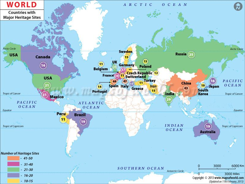 World heritage sites map heritage sites pinterest site map world heritage sites map gumiabroncs Images