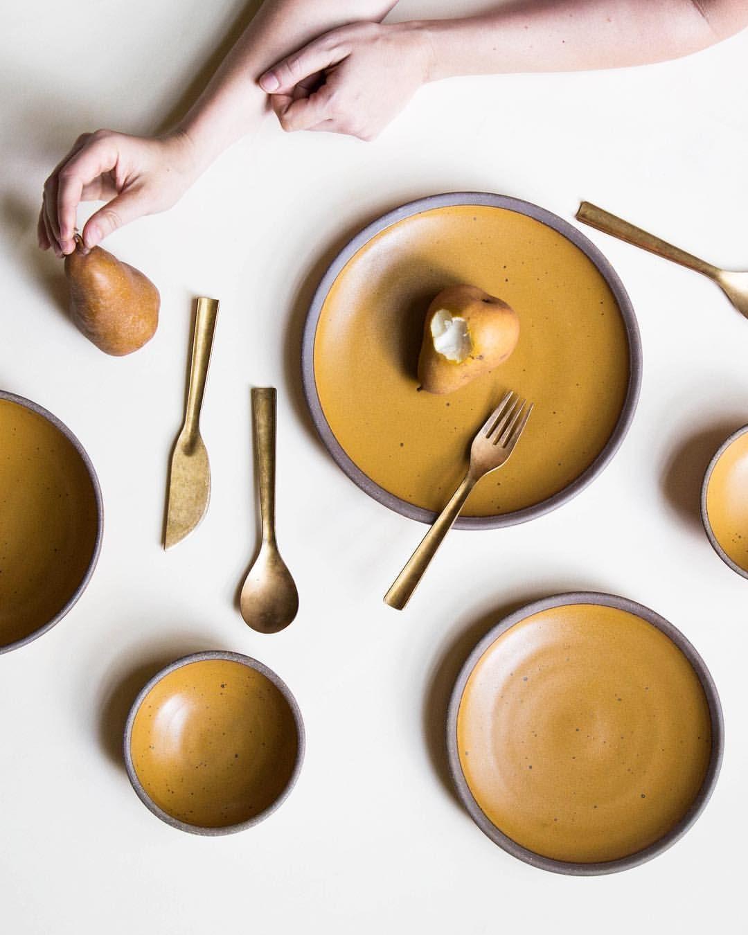 Handmade Dish Leaf Design Earthy Glazes