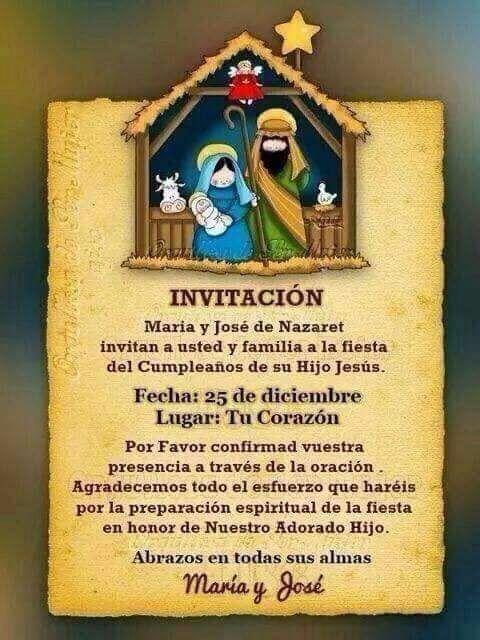 Invitación De Navidad Tarjeta De Navidad Mensajes