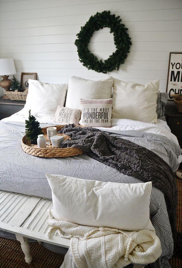 Bed Linen Decorating Ideas Part - 25: 20 Beautiful Winter Bedroom Ideas