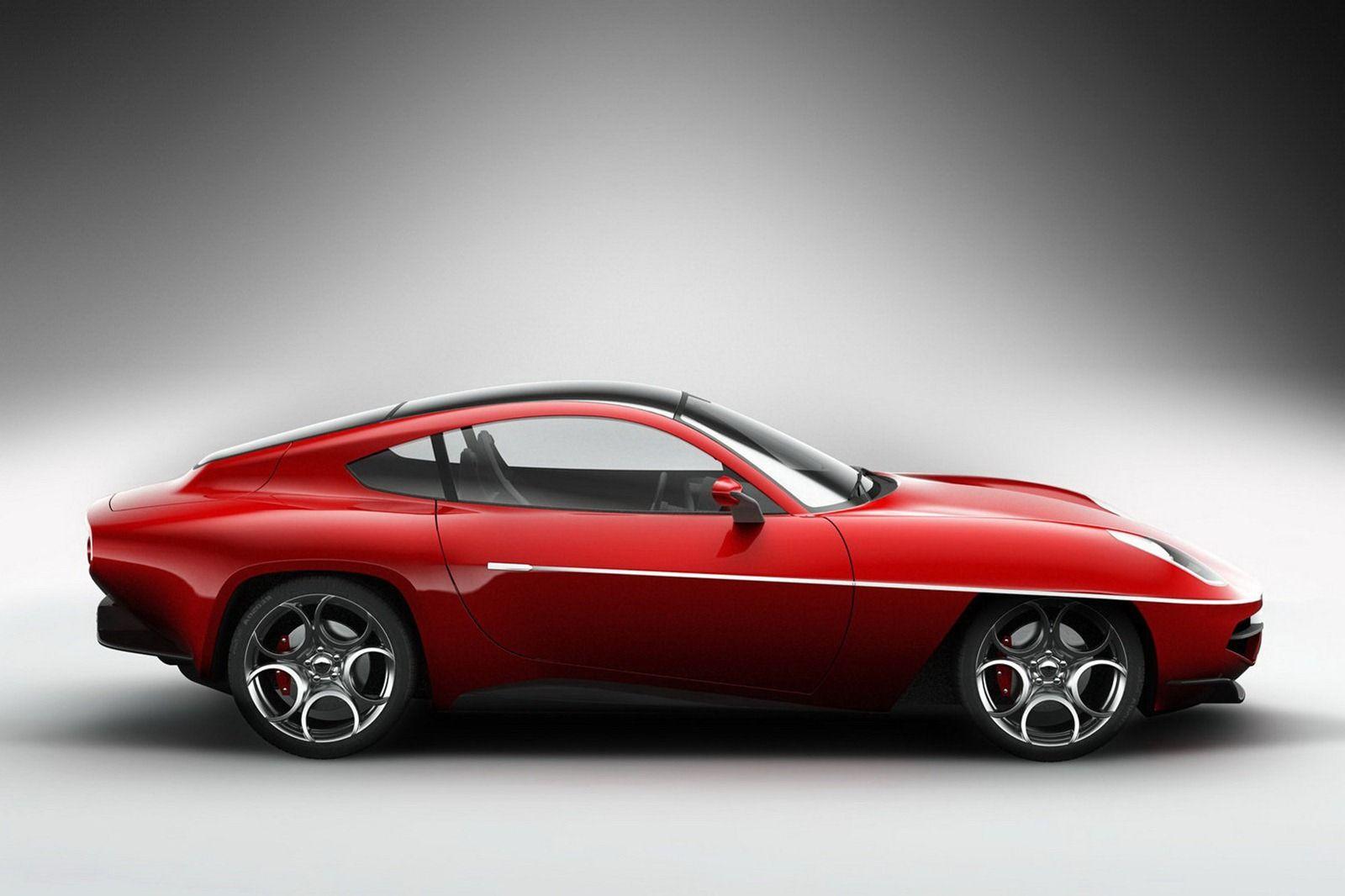 1950 S Alfa Romeo Disco Volante Reborn As An 8c Competizione Based Limited Production Model Carscoops Alfa Romeo Disco Volante Alfa Romeo Superleggera