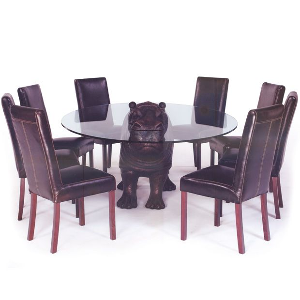 Cheeky Hippo Dining Table by Mark Stoddart | Hippos