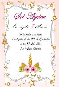 Fiestas Personalizadas Imprimibles Tarjetas De Invitacion