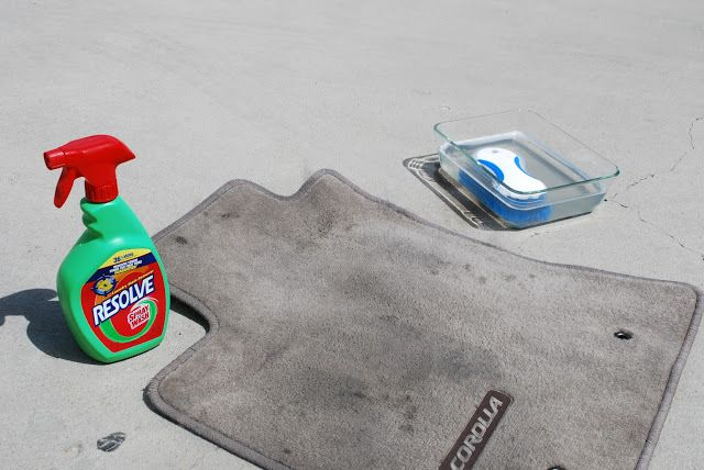 Sunshine and a Summer Breeze: How to Clean Car Mats #cleaningcars