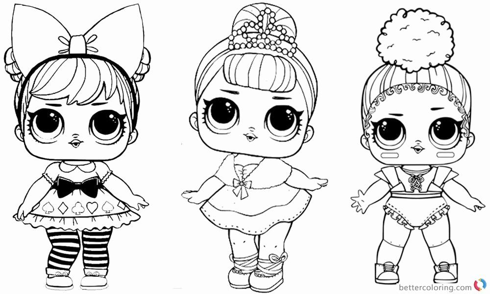 New Lol Doll Coloring Pages Images