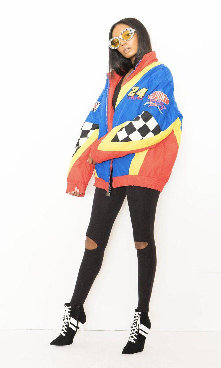 90'S NASCAR RACE TEAM JACKET Vintage jacket outfit, Team