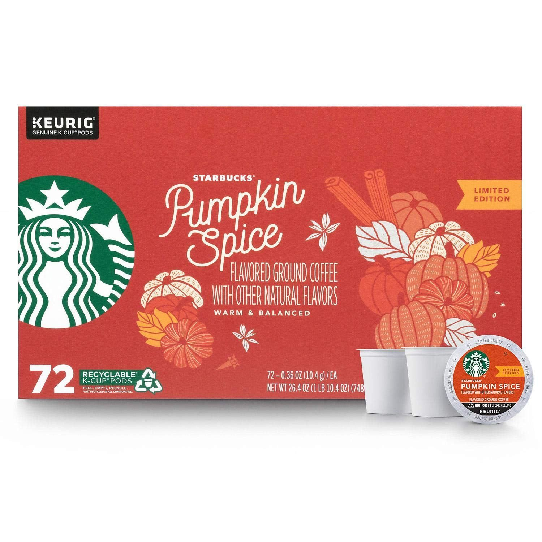 Starbucks Pumpkin Spice Flavored Coffee in 2020