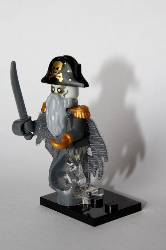 Custom lego pirate ghost by harribricks on etsy
