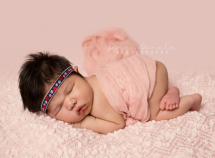 Olivia 8 days new gilbert az newborn photographer jenna donato photography website