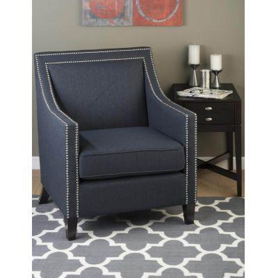 Astounding Product Details Luca Indigo Arm Chair Talman Master Ibusinesslaw Wood Chair Design Ideas Ibusinesslaworg