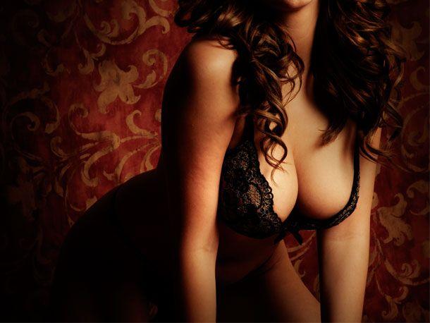 sexy Brüste berühren