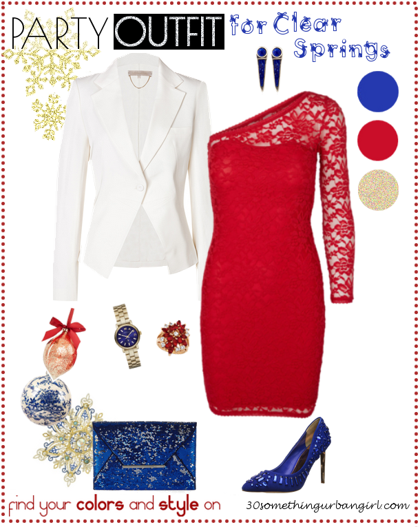 a7bf0d50f560 Pretty Holiday Party Outfit for Clear Springs and Clear Winters ...