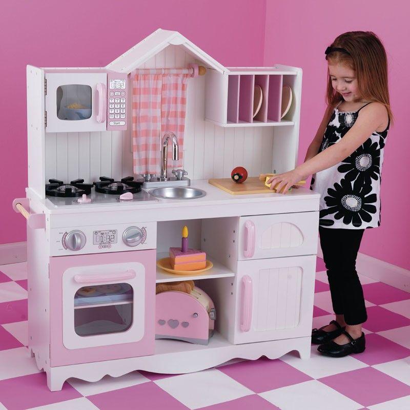 compra aqu la cocina de juguete campo moderno de kidkraft para juegos de nios y nias